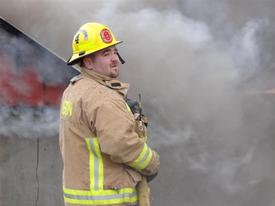 Firefighter Brian Boone
