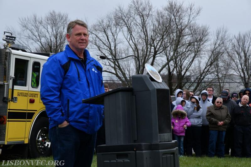 Howard County Executive, Alan Kittleman