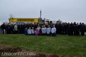 Group Photo of the LVFC Membership in Attendance