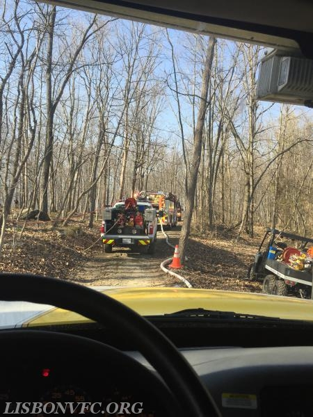 B137 and E131 from Glenwood, and ATV12 from Sykesville